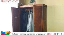 извозва стари мебели София