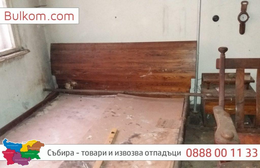 изхвърляне на стари мебели в София