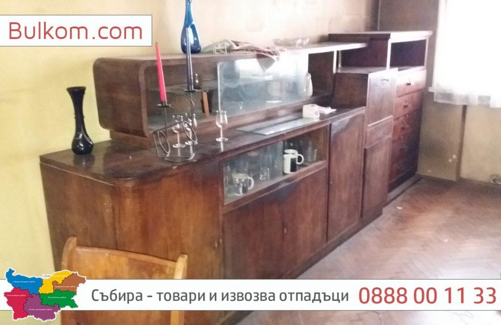 стари талашитени мебели град София